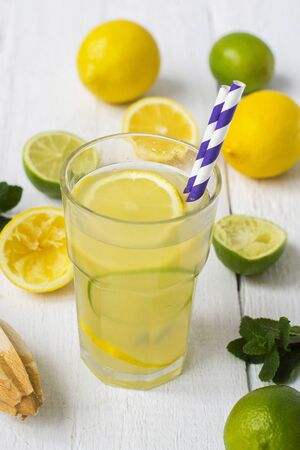 refreshing: Vitamin refreshing cocktail with citrus and honey