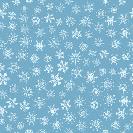 illustration of snowflakes Vector
