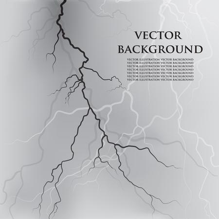 forked: illustration background