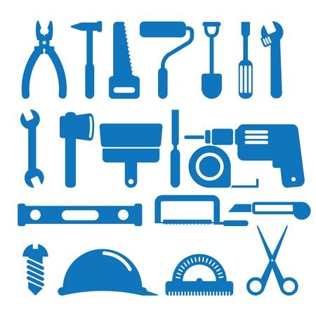 bar tool set: illustration of the building instrument