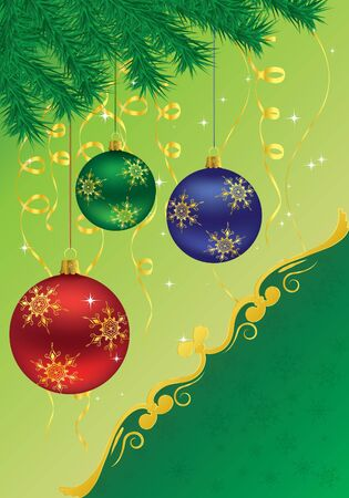 illustration Christmas background Stock Vector - 12303578