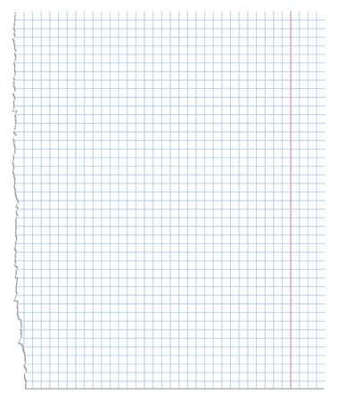 illustration of a sheet of paper Stock Vector - 12303436