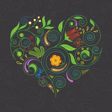 Vector illustratie van het hart