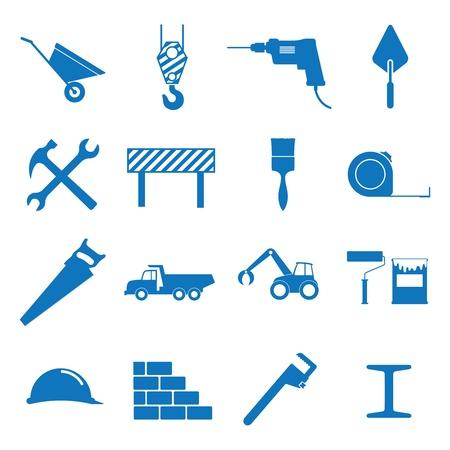 Vector illustration sur le thème de la construction