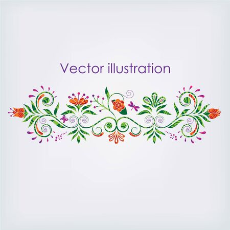 Vector illustration of a pattern