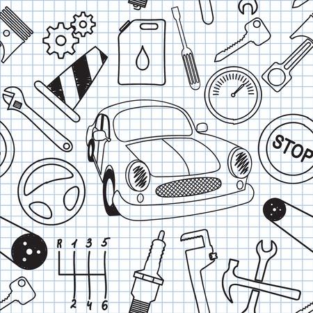 illustration on the mechanics Stock Vector - 13081251