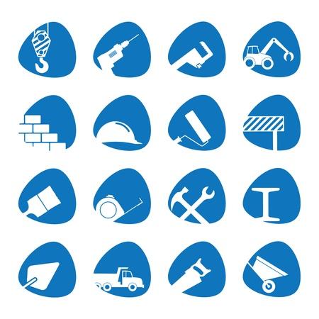 herramientas de construccion: ilustraci�n sobre el tema de la construcci�n