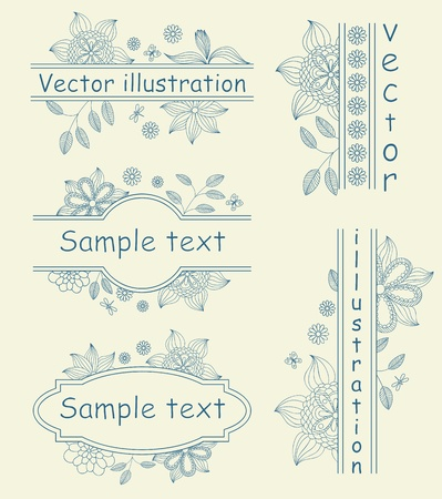 illustration of patterned background Vector