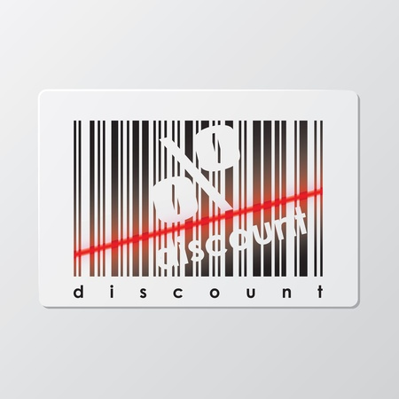 illustration of barcode Vector