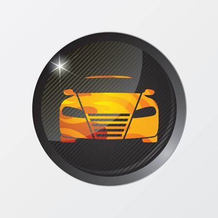 Vector illustration of car icons Stock Vector - 13657123