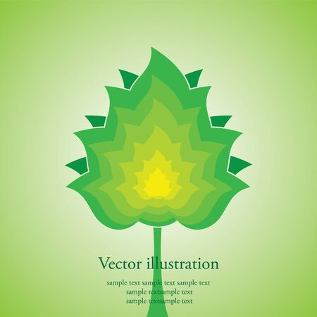 Vector illustration of a tree Vector