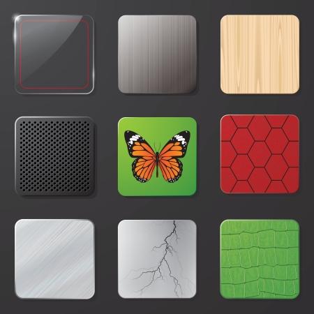 illustration of a framework for icons Stok Fotoğraf - 14274117