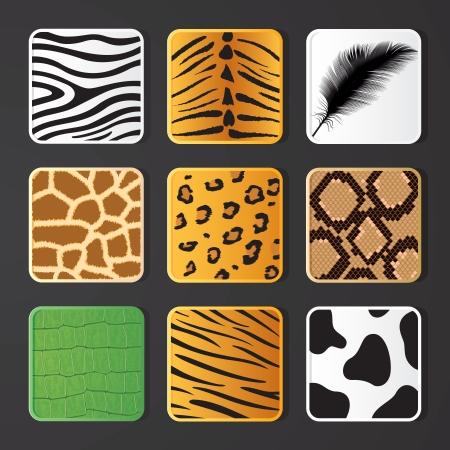 substrate: ilustraci�n de la piel animal