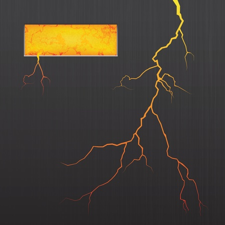 illustration of abstract background. Lava. Crack. Vector