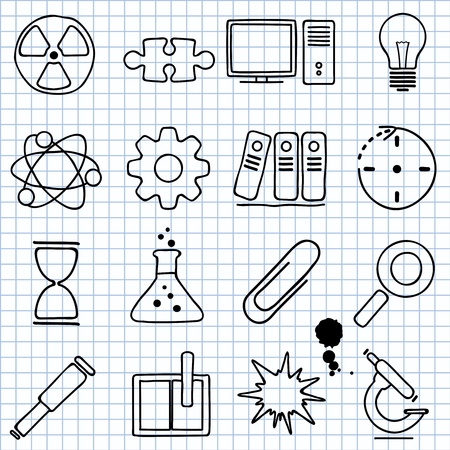 images about science Stock Vector - 16196052