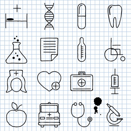 images on medicine Stock Vector - 16196051