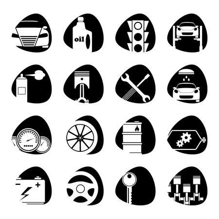 illustratie op het thema van het vervoer
