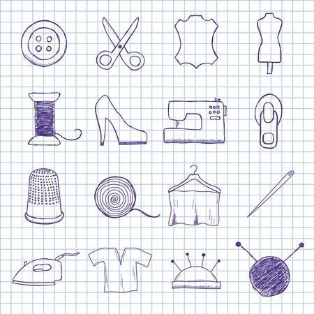 maquinas de coser: las imágenes de la costura
