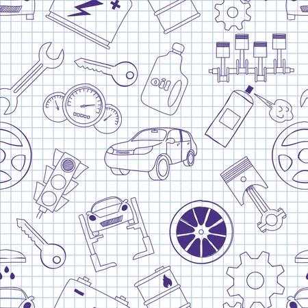 images on mechanics Stock Vector - 17189058