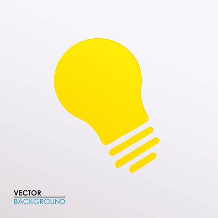 bulb light: illustration of a light bulb
