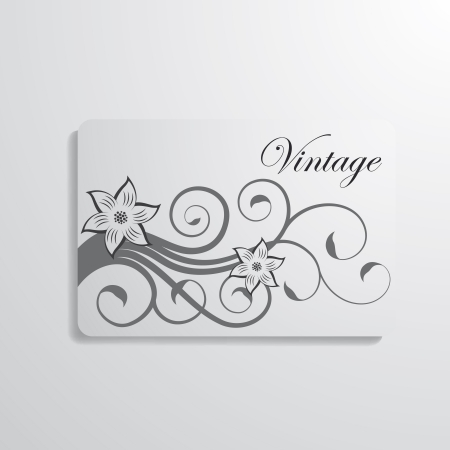 Vector illustration of business card Vector