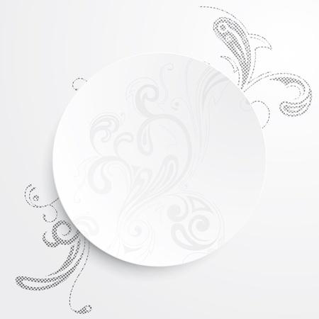 cutaway drawing: Illustrazione vettoriale di uno sfondo bianco e nero