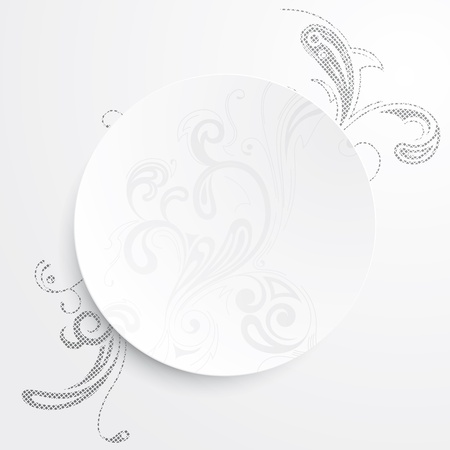 cutaway drawing: Vector illustration of a black and white background