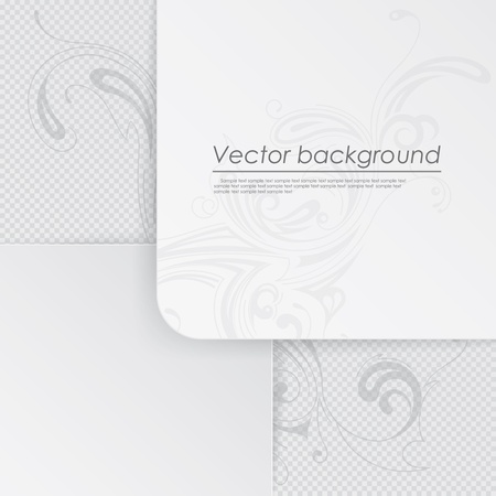 Vector background with a picture of sheets of paper Stock Vector - 17697243