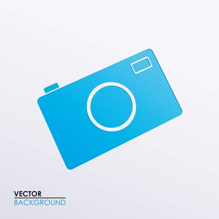 Vector symbolic image camera Stock Vector - 17697304