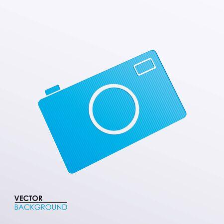 Vector symbolic image camera Stock Vector - 17697304