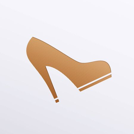 Vector icons of footwear Stock Vector - 17697295