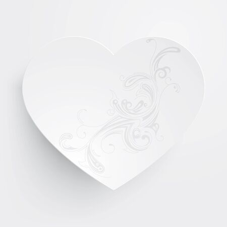 Vector illustration of paper hearts Stock Vector - 17824996