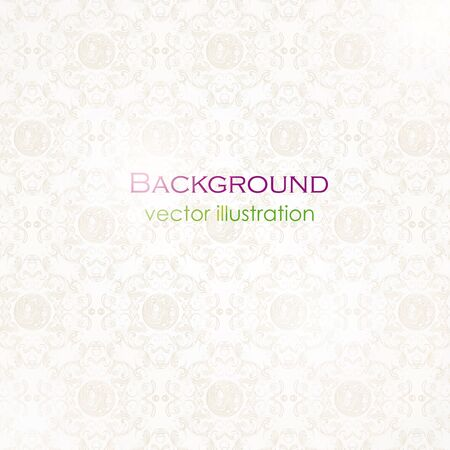 illustration of a patterned background Vector