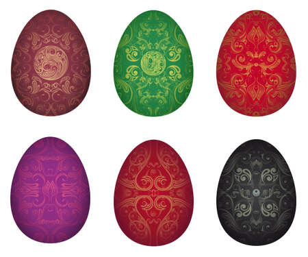 Vector illustration of Easter eggs Stock Vector - 18064931