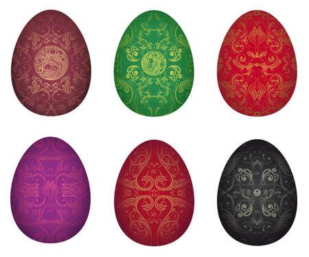 Vector illustration of Easter eggs Stock Vector - 18064931