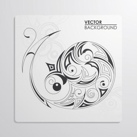 cutaway drawing: Vector pattern