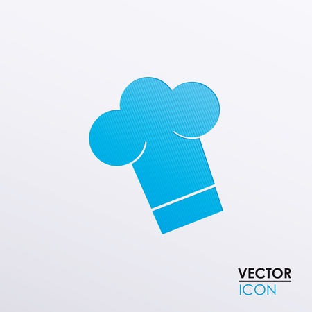 commercial kitchen: illustration of icons on the food theme Illustration