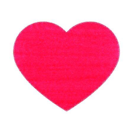 Vector illustration des images symboliques du coeur Vecteurs