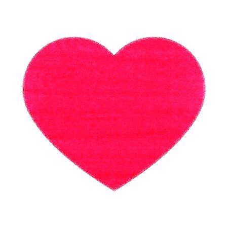 Vector illustration des images symboliques du coeur