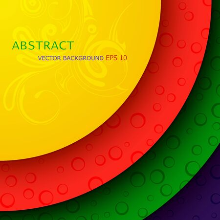 stage decoration abstract: Vector illustration of bright abstract background