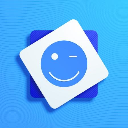 Vektor-Illustration von smiley Bilder