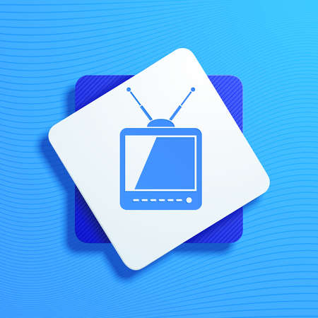 Vector illustration on the theme of television Stock Vector - 19715978