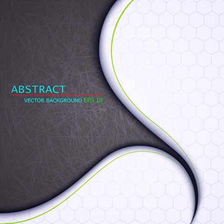 contemporary style: Vector illustration of abstract background Illustration