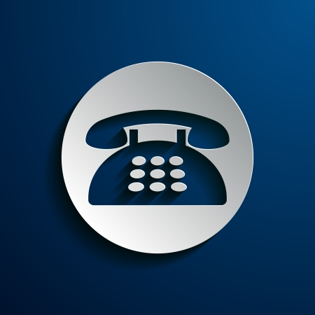 gsm: vector illustration of icons phone