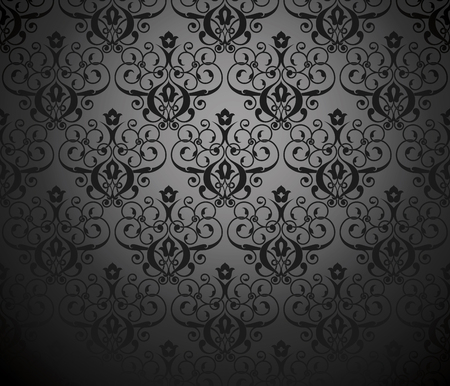Vector illustration of a seamless pattern. Samples created without gradient pattern.