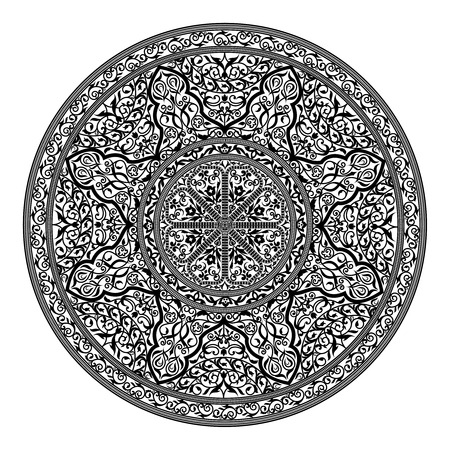 Vector illustration of oriental ornament