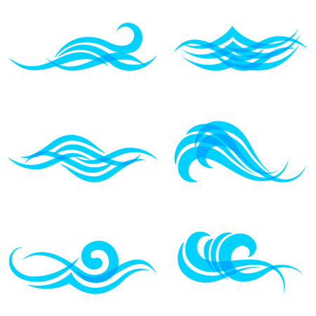 Objects symbolizing water