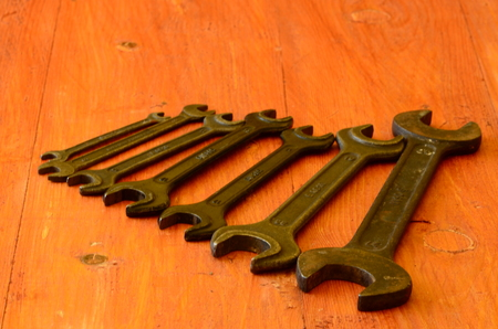 Set of wrenches photo
