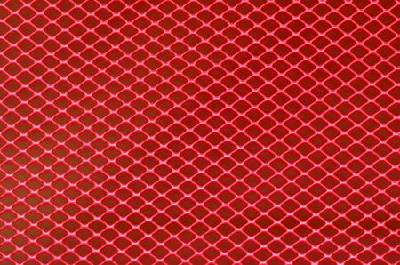 grating: Background of red steel grating
