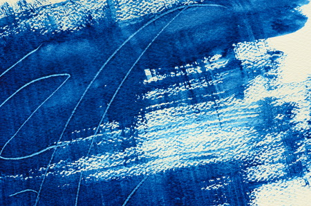 multi layered: Hand painted  multi layered navy background with scratches